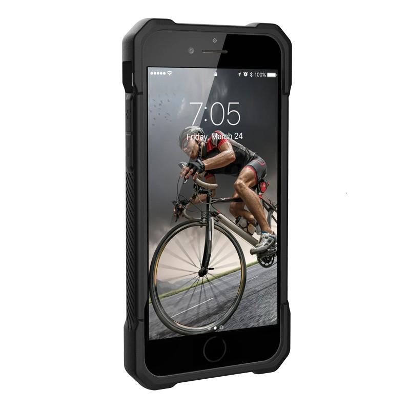 UAG Monarch iPhone SE (2020)/8/7/6S/6 rood-zwart 02