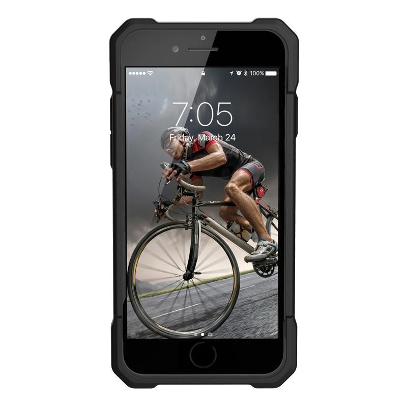 UAG Monarch iPhone SE (2020)/8/7/6S/6 rood-zwart 04