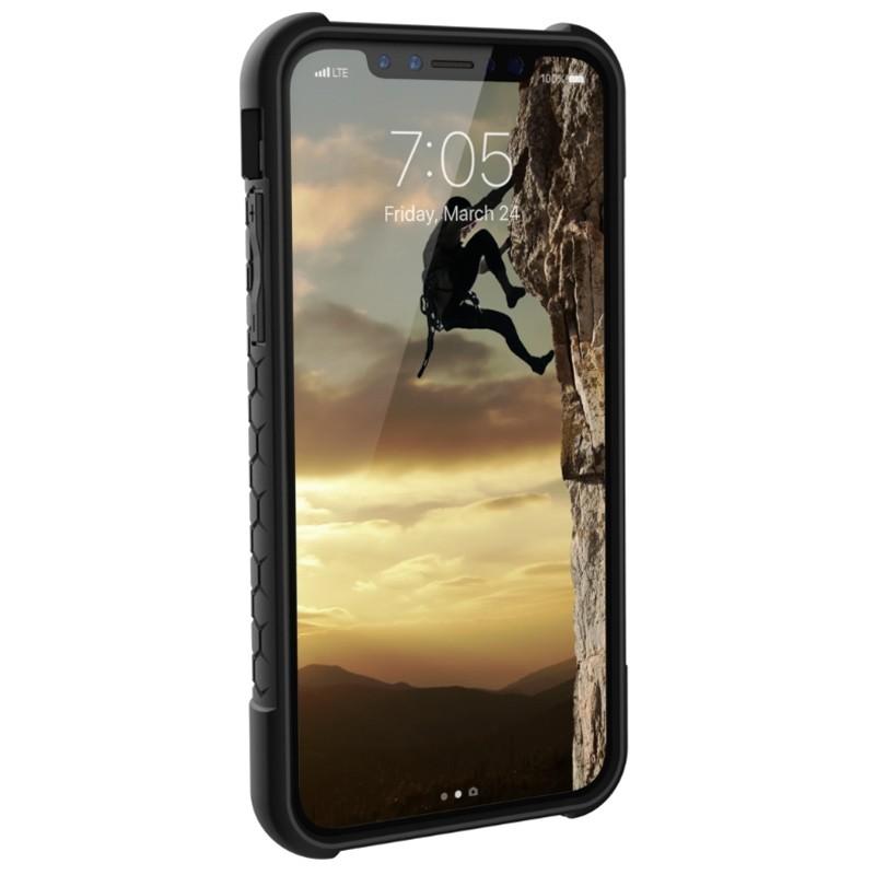 UAG - Monarch iPhone X/Xs Hoesje Graphite Black 02