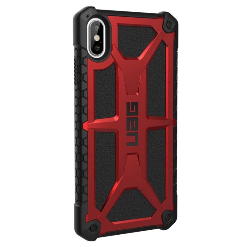 UAG Monarch iPhone XS Max Crimson Red 04