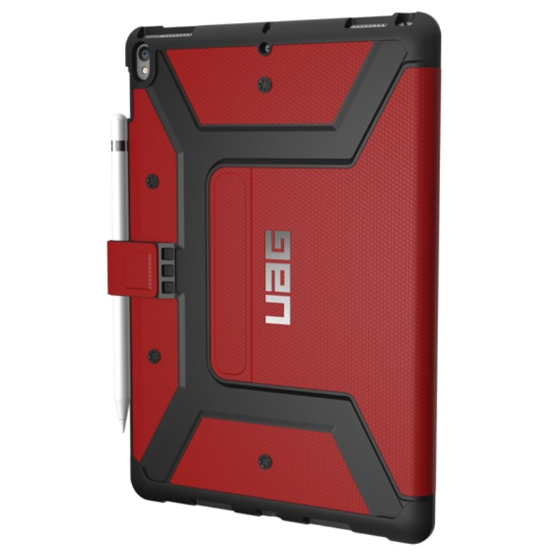 UAG New Metropolis Case iPad Air 10.5 (2019), iPad Pro 10.5 Red 03