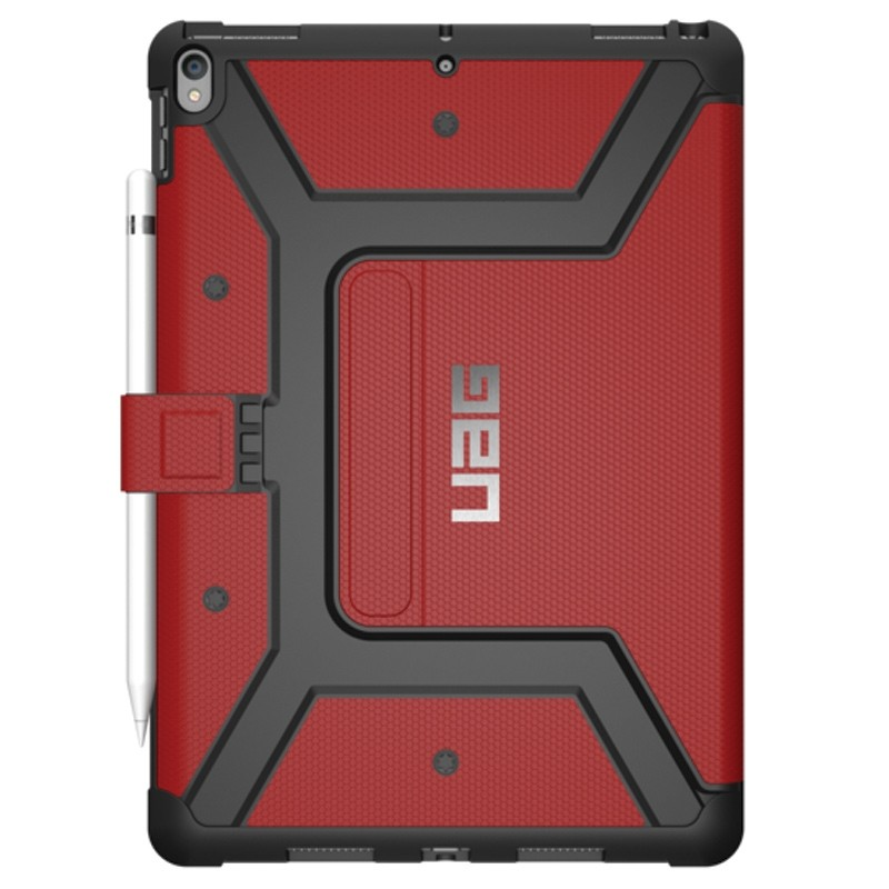 UAG New Metropolis Case iPad Air 10.5 (2019), iPad Pro 10.5 Red 02
