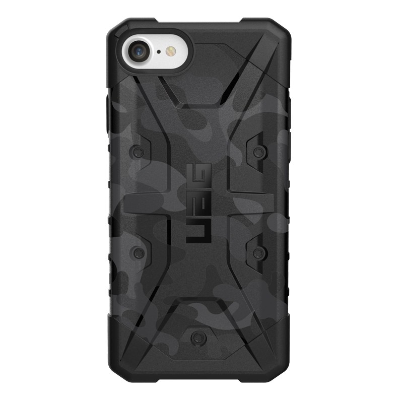 UAG - Pathfinder iPhone SE (2020)/8/7/6S/6 zwart camo 01
