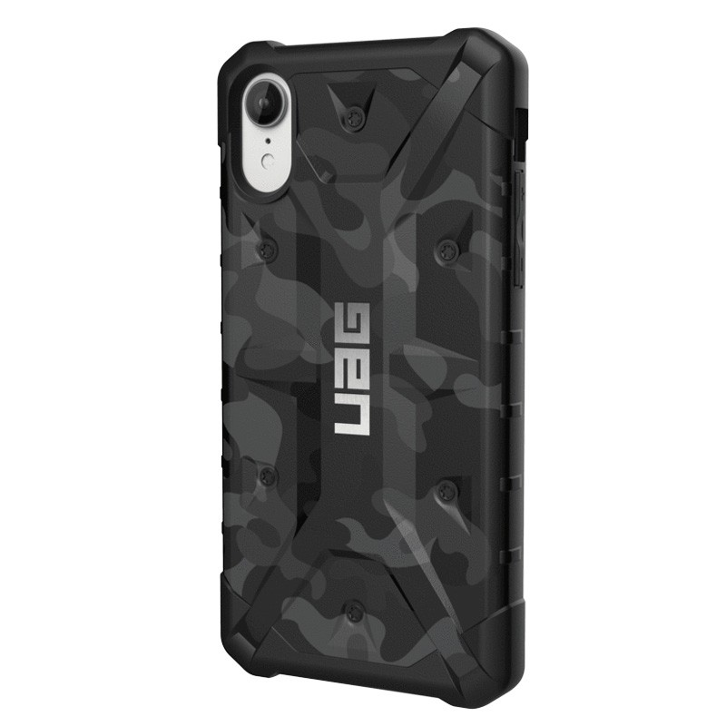 UAG Pathfinder SE Camo iPhone XR Midnight - 3