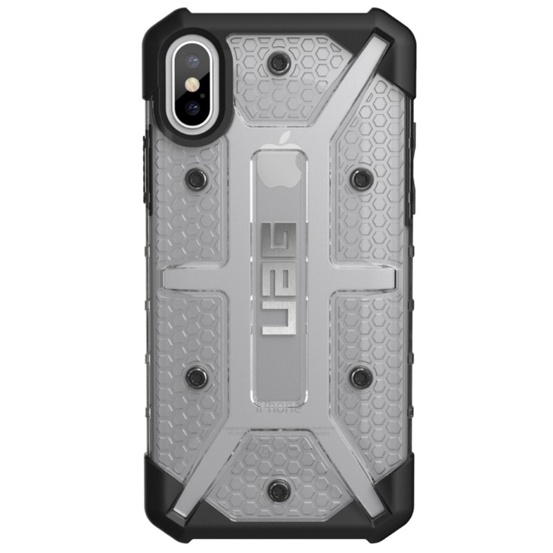 UAG - Plasma iPhone X/Xs Hoesje Ice Clear 01