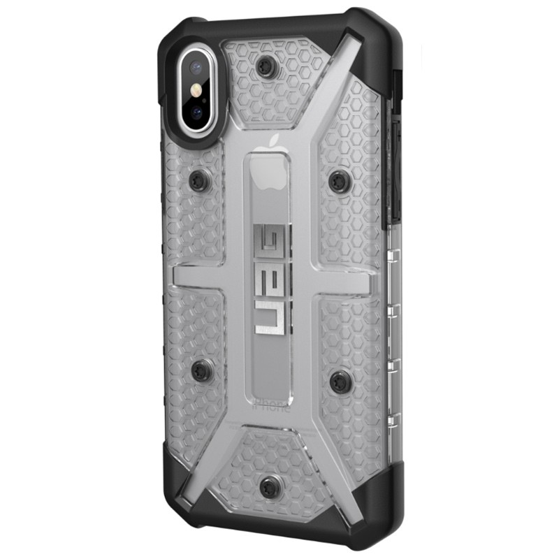 UAG - Plasma iPhone X/Xs Hoesje Ice Clear 04
