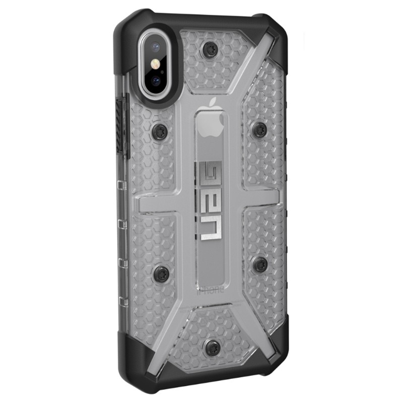 UAG - Plasma iPhone X/Xs Hoesje Ice Clear 03