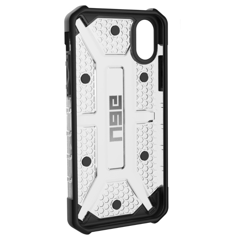 UAG - Plasma iPhone X/Xs Hoesje Ice Clear 05