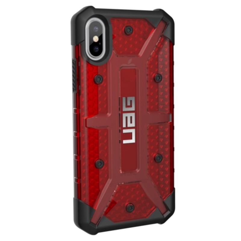 UAG - Plasma iPhone X/Xs Case Magma Red 04