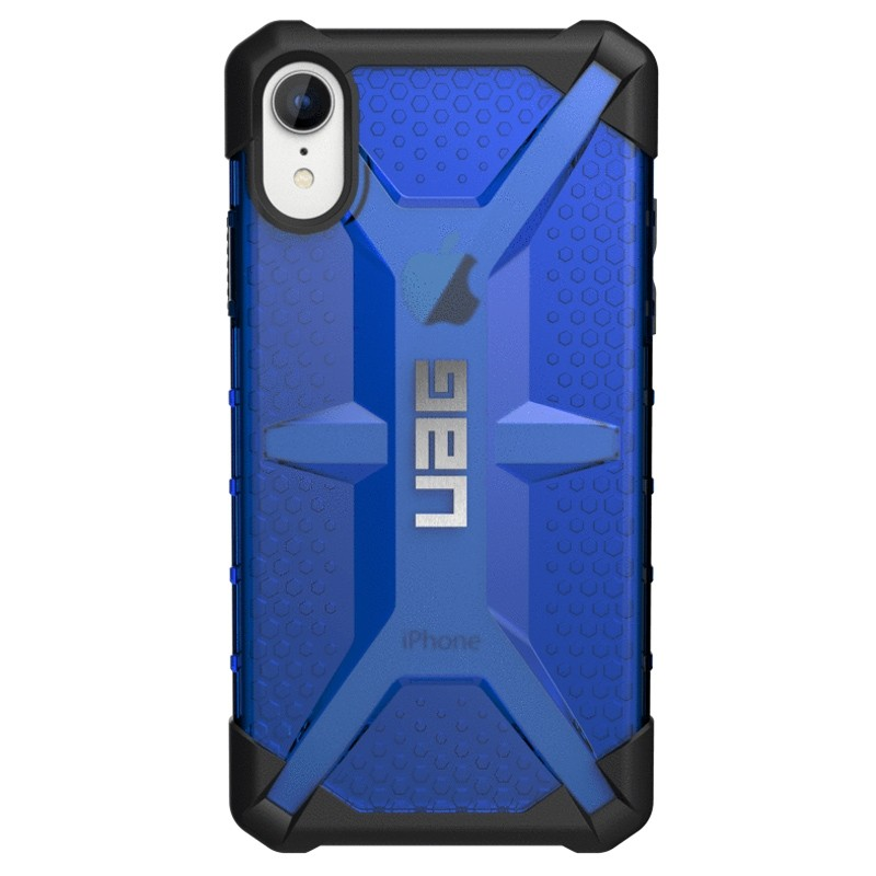 UAG Plasma iPhone XR Hoesje Blauw 01