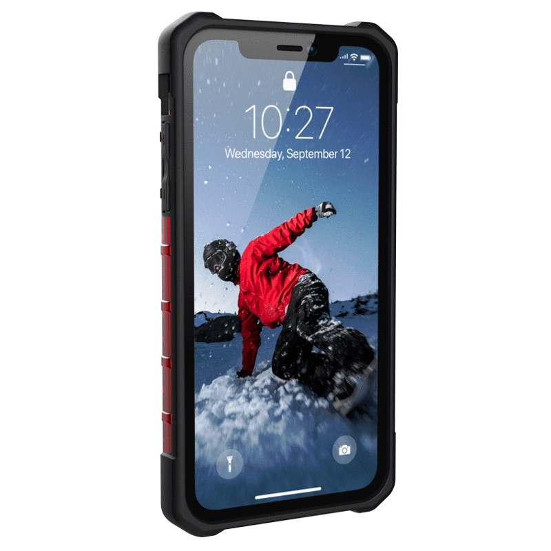 UAG Plasma iPhone XR Hoesje Rood 02