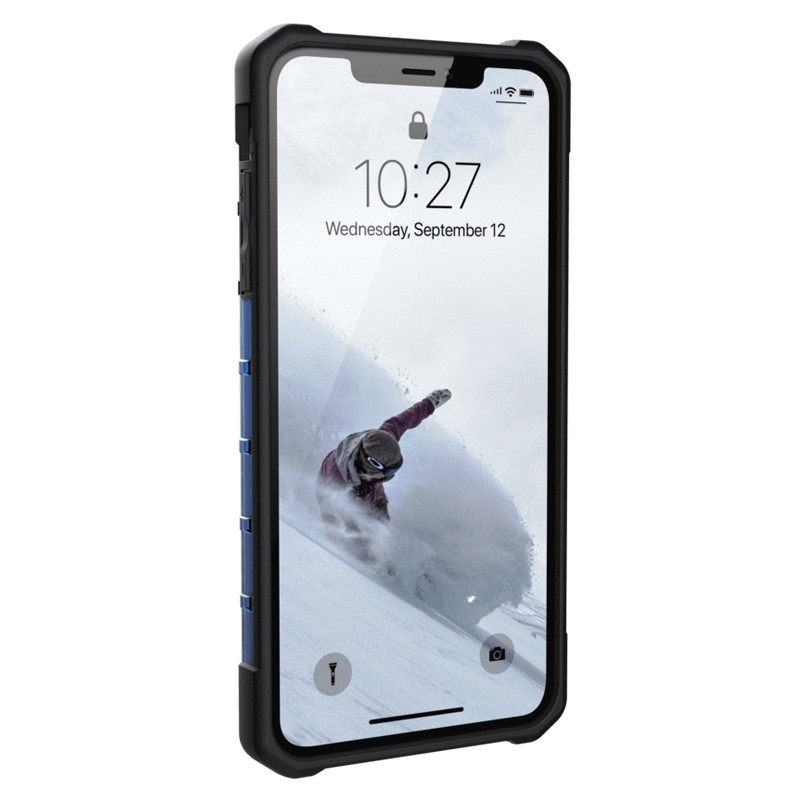 UAG Plasma Case iPhone XS Max Hoesje Cobalt Blue 02