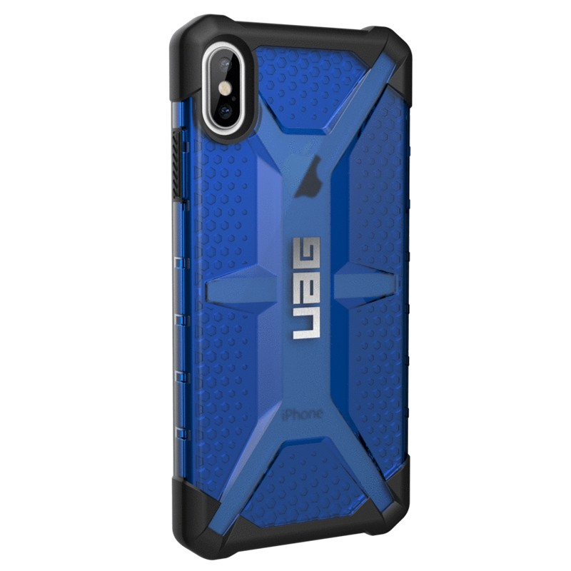 UAG Plasma Case iPhone XS Max Hoesje Cobalt Blue 04