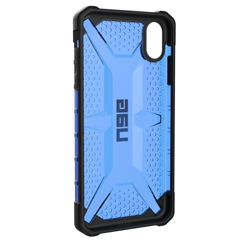 UAG Plasma Case iPhone XS Max Hoesje Cobalt Blue 05