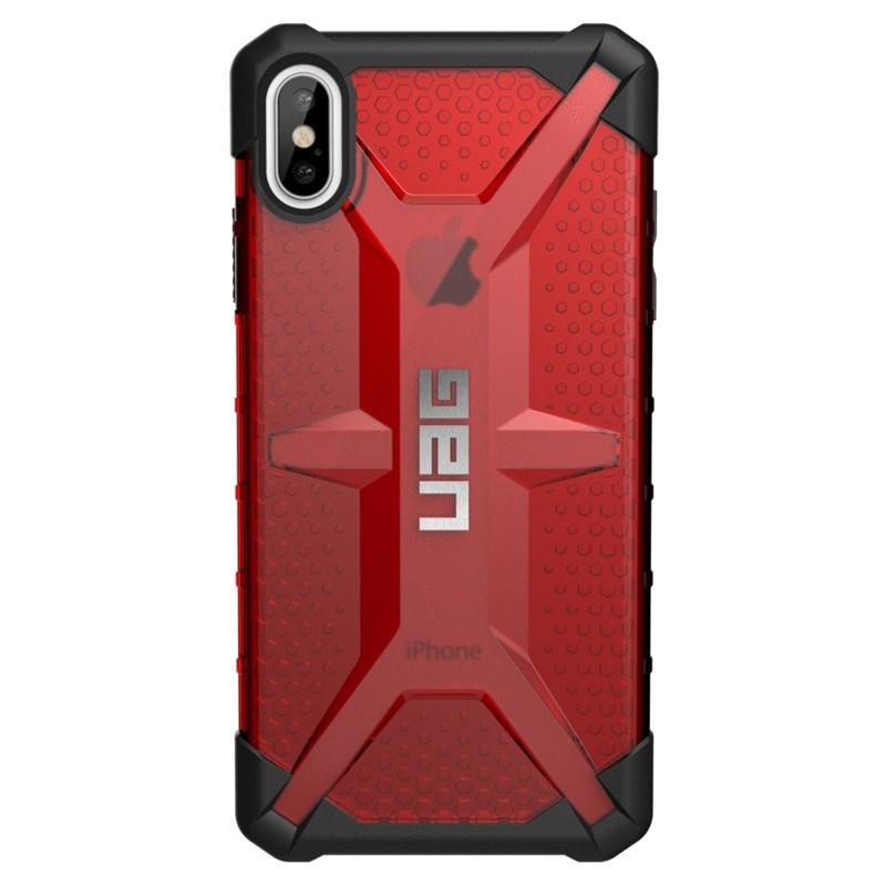 UAG Plasma Case iPhone XS Max Hoesje Magma rood 01