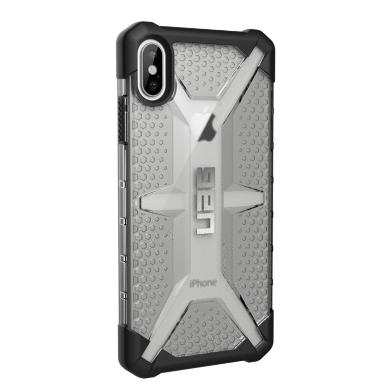 UAG Plasma Case iPhone XS Max Hoesje Ice Clear 04