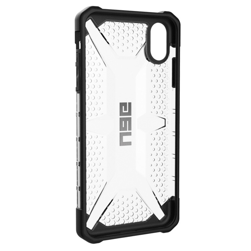 UAG Plasma Case iPhone XS Max Hoesje Ice Clear 05