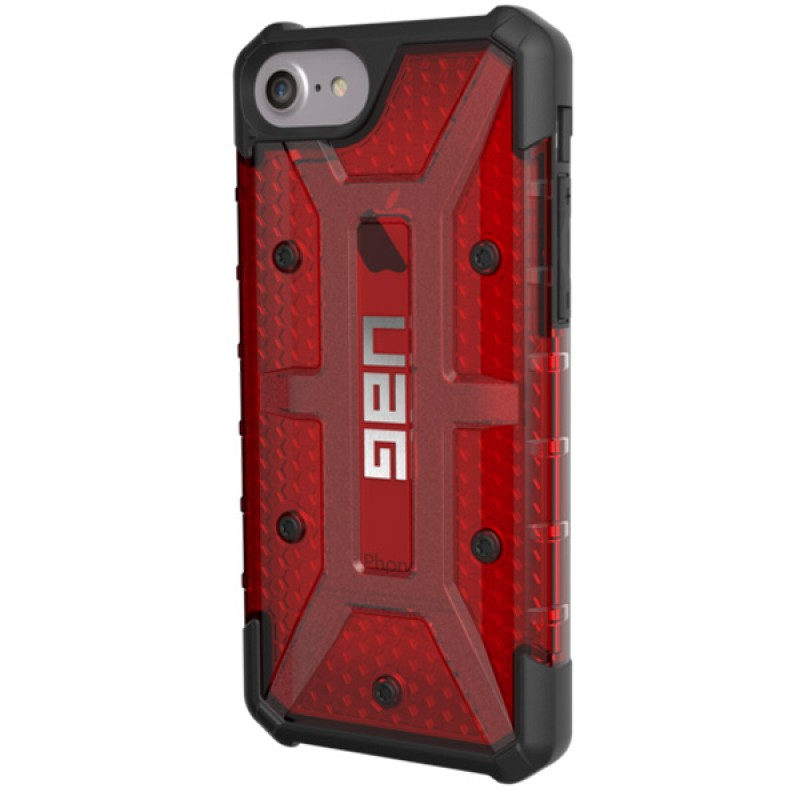 UAG Plasma Hard Case iPhone 7 Magma Red - 2
