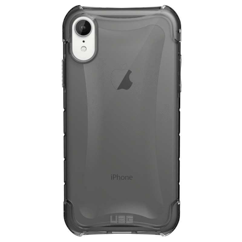UAG Plasma iPhone XR Hoesje Ash Clear Transparant 01