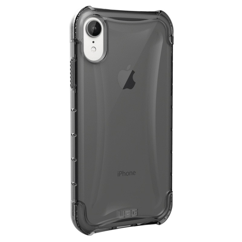 UAG Plasma iPhone XR Hoesje Ash Clear Transparant 03