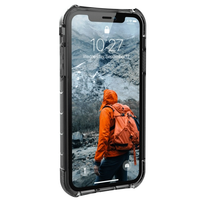 UAG Plasma iPhone XR Hoesje Ash Clear Transparant 02