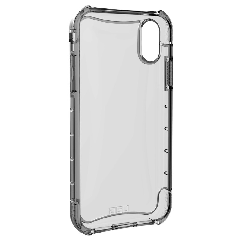 UAG Plasma iPhone XR Hoesje Ash Clear Transparant 04
