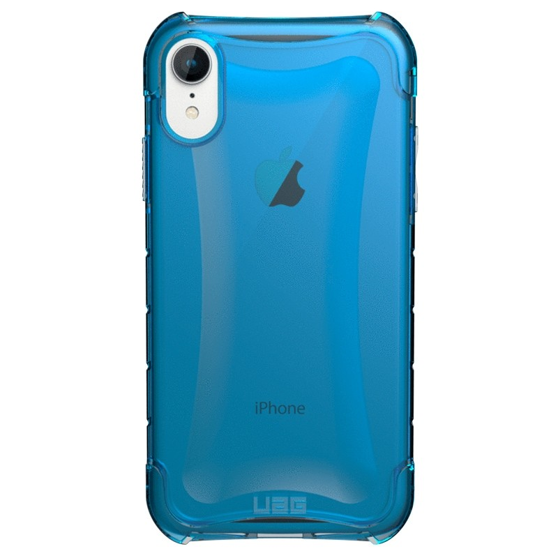 UAG Plasma iPhone XR Hoesje Blauw Transparant 01