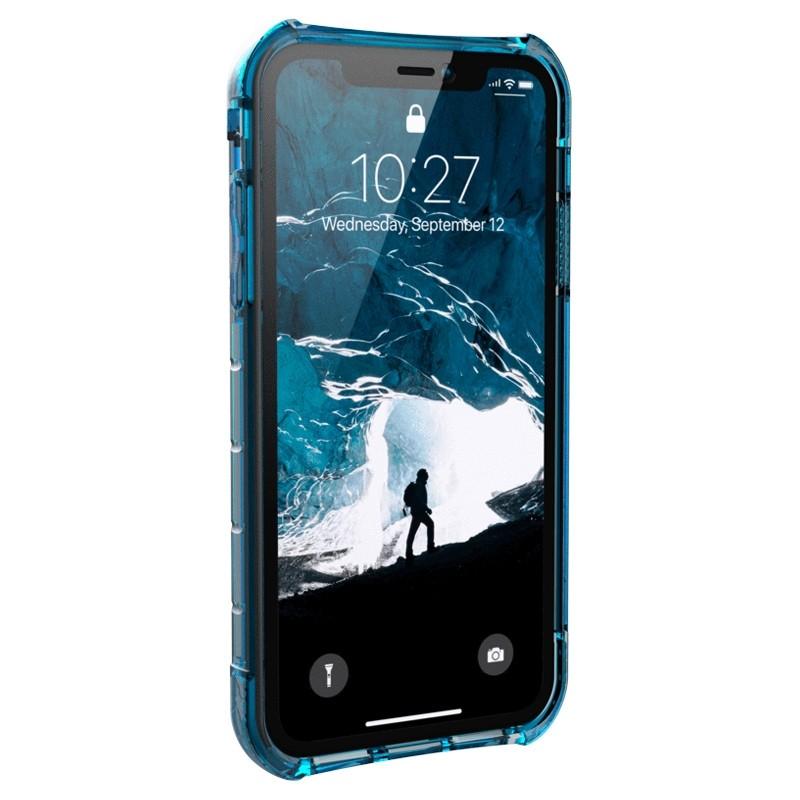 UAG Plasma iPhone XR Hoesje Blauw Transparant 02