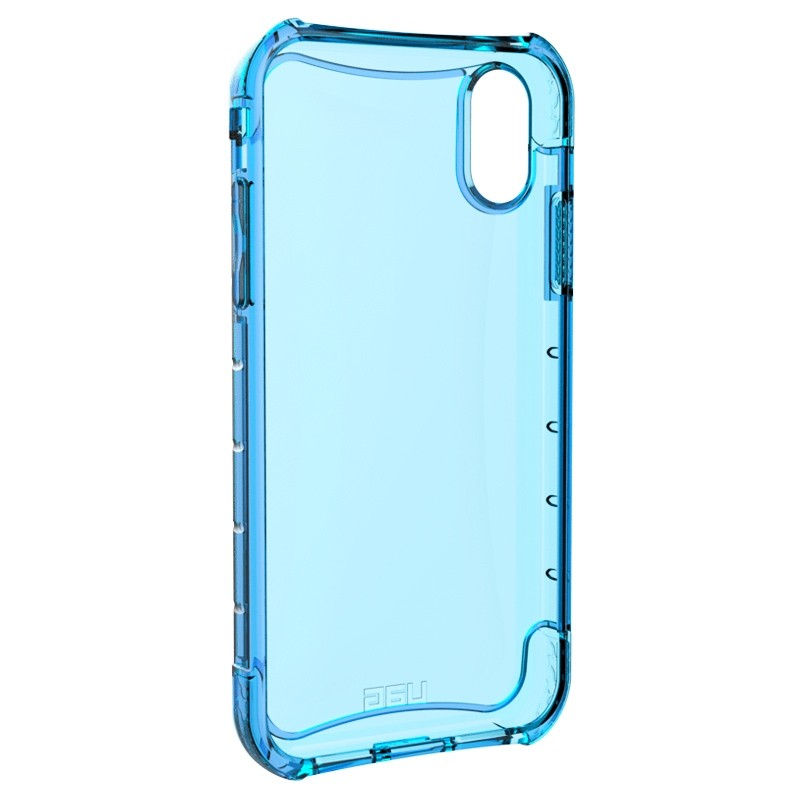 UAG Plasma iPhone XR Hoesje Blauw Transparant 04