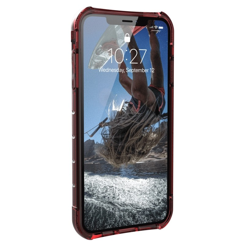 UAG Plyo iPhone XS Max Hoesje Crimson Red 02