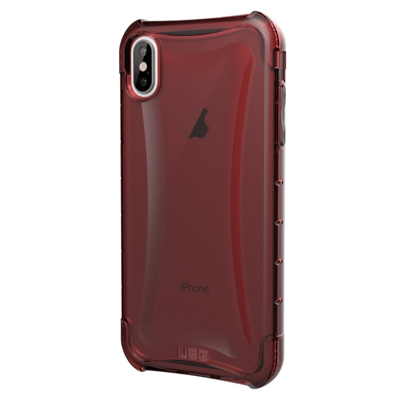 UAG Plyo iPhone XS Max Hoesje Crimson Red 03