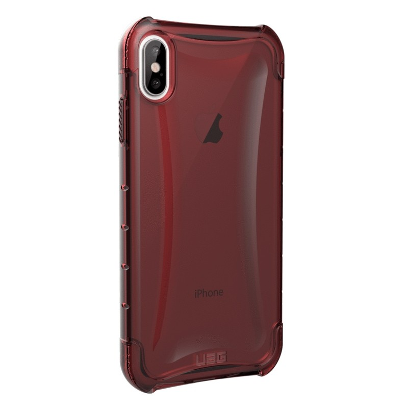 UAG Plyo iPhone XS Max Hoesje Crimson Red 04