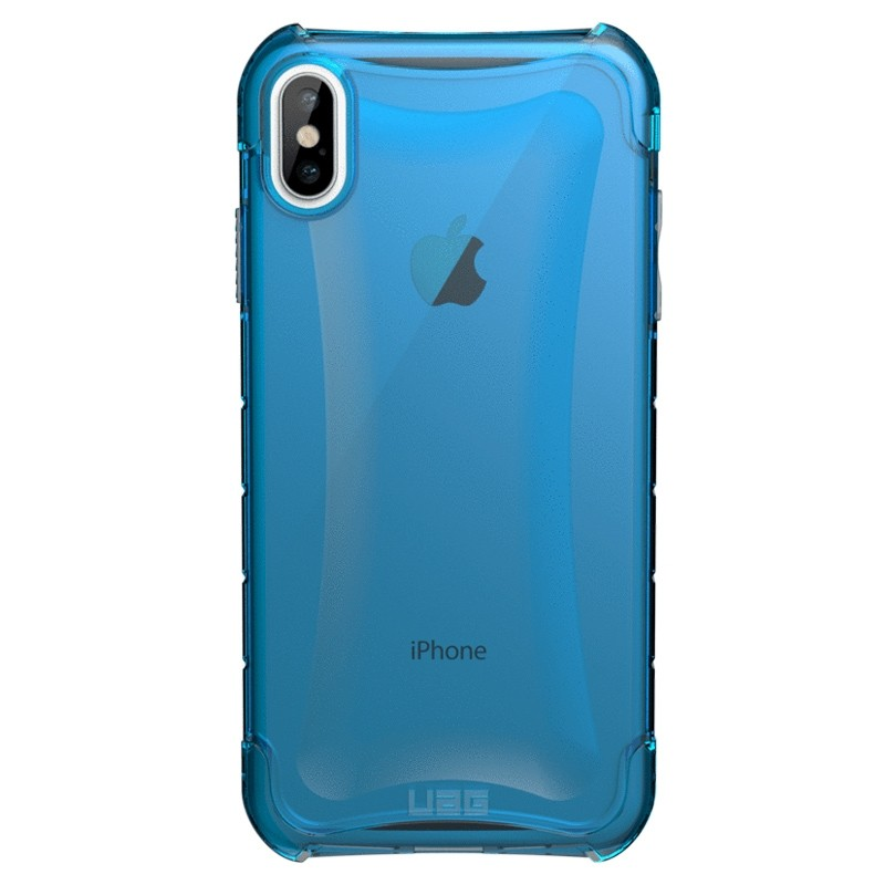 UAG Plyo iPhone XS Max Hoesje Artic Blue 01