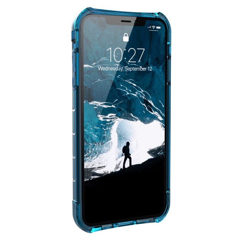UAG Plyo iPhone XS Max Hoesje Artic Blue 02