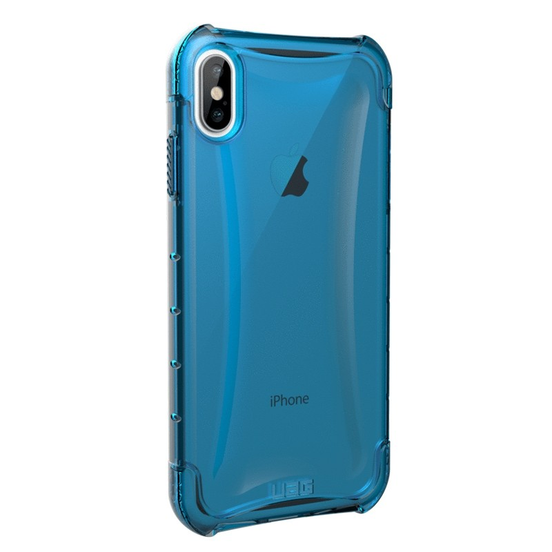 UAG Plyo iPhone XS Max Hoesje Artic Blue 04