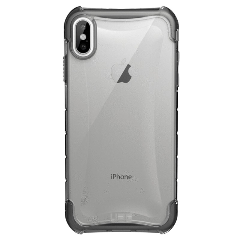 UAG Plyo iPhone XS Max Hoesje Ice Clear 01