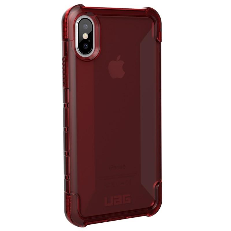 UAG Plyo iPhone X/Xs Hard Case Crimson Red 02