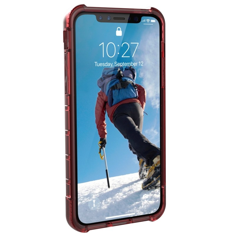 UAG Plyo iPhone X/Xs Hard Case Crimson Red 04