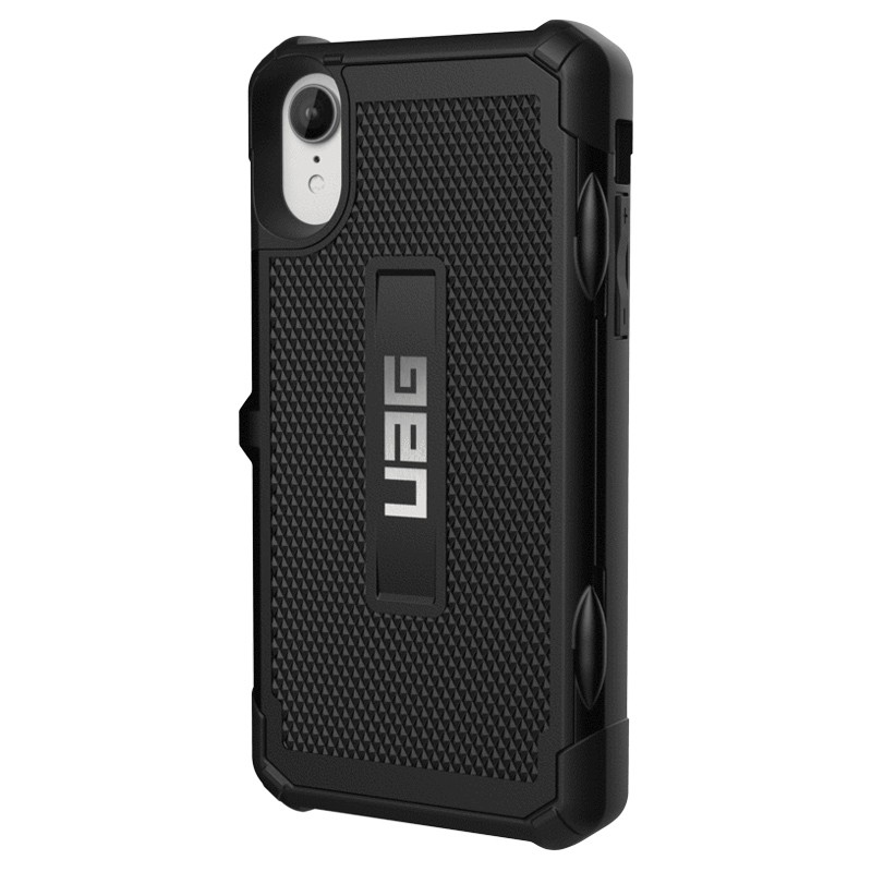 UAG Trooper Card Case iPhone XR Zwart 04