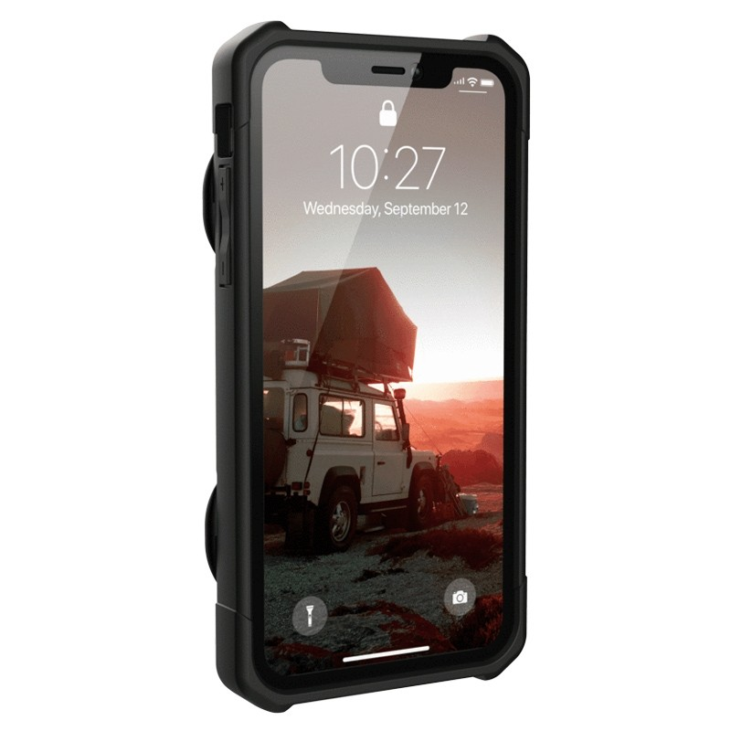 UAG Trooper Card Case iPhone XR Zwart 02