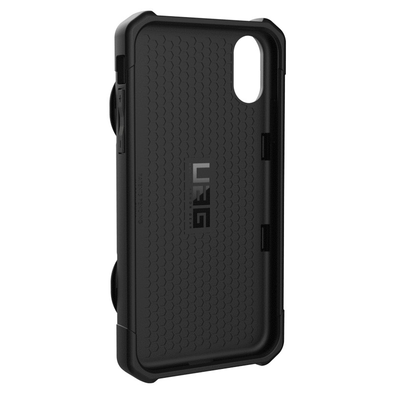 UAG Trooper Card Case iPhone XR Zwart 05