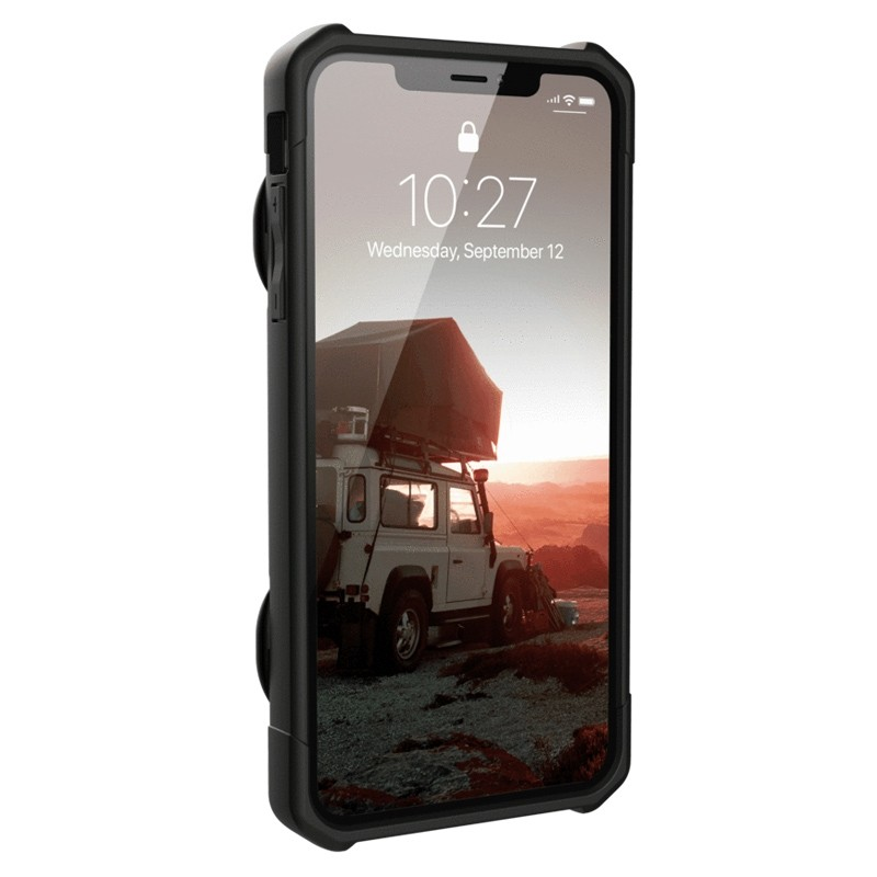UAG Trooper Card Case iPhone XS Max Zwart 02