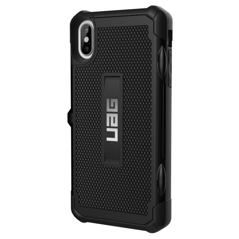 UAG Trooper Card Case iPhone XS Max Zwart 04