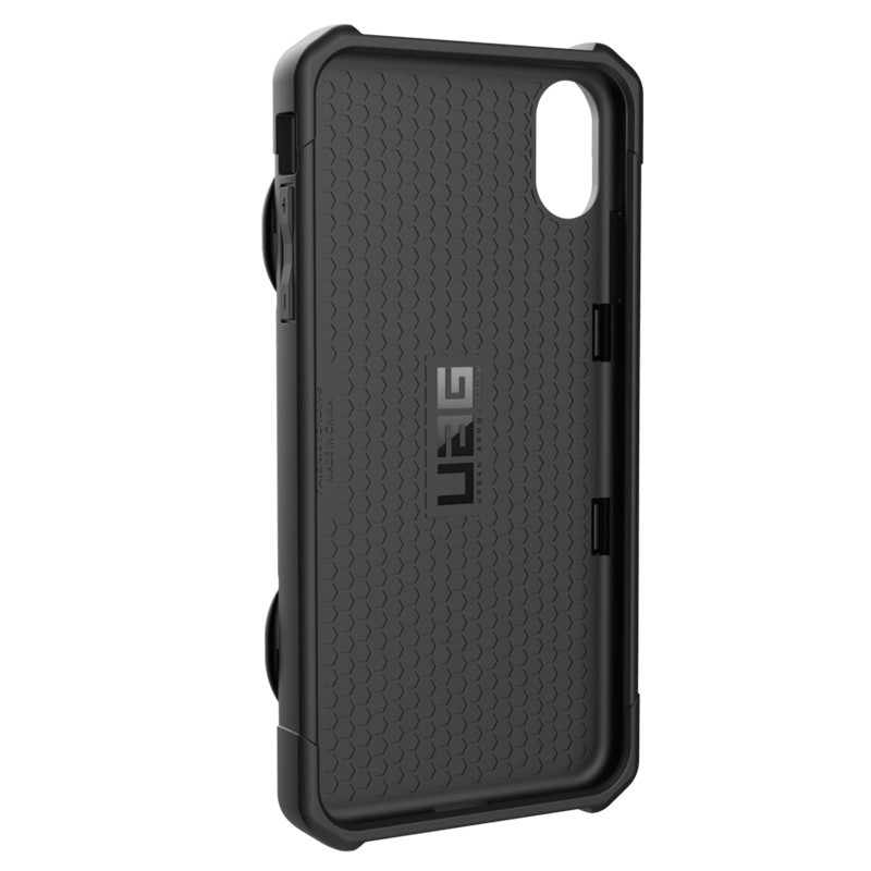 UAG Trooper Card Case iPhone XS Max Zwart 05