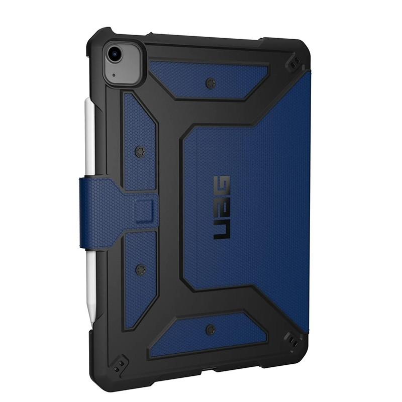 UAG Metropolis iPad Air 10.9 (2020) / iPad Pro 11 inch (2021/2020/2018) Folio Hoes Blauw 01