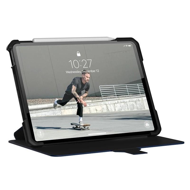 UAG Metropolis iPad Air 10.9 (2020) / iPad Pro 11 inch (2021/2020/2018) Folio Hoes Blauw 04