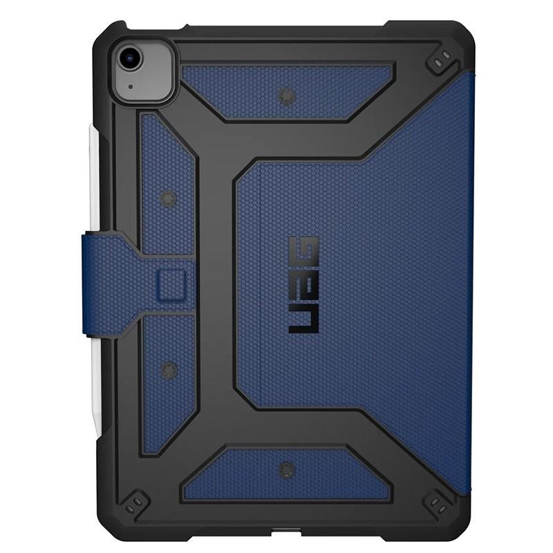 UAG Metropolis iPad Air 10.9 (2020) / iPad Pro 11 inch (2021/2020/2018) Folio Hoes Blauw 02