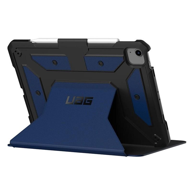 UAG Metropolis iPad Air 10.9 (2020) / iPad Pro 11 inch (2021/2020/2018) Folio Hoes Blauw 03