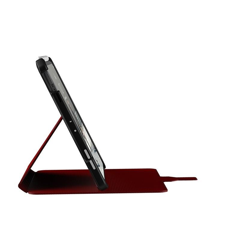 UAG Metropolis iPad Air 10.9 (2020) / iPad Pro 11 inch (2021/2020/2018) Folio Hoes Rood 03