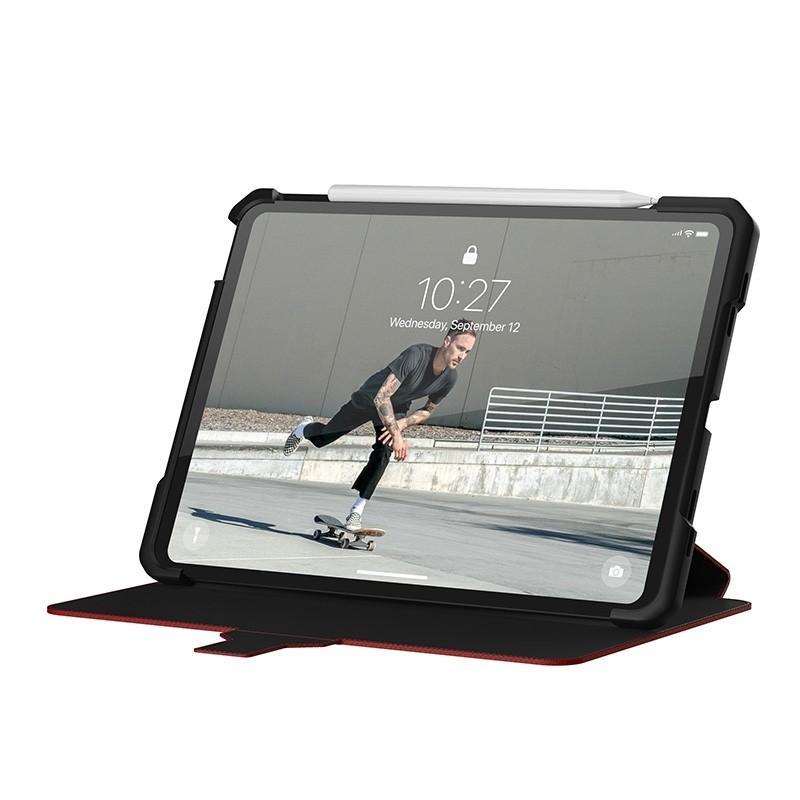 UAG Metropolis iPad Air 10.9 (2020) / iPad Pro 11 inch (2021/2020/2018) Folio Hoes Rood 02